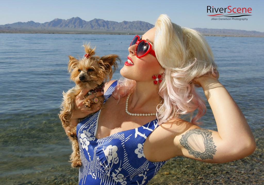 Stephanie at Rockabilly Reunion. Jillian Danielson/RiverScene