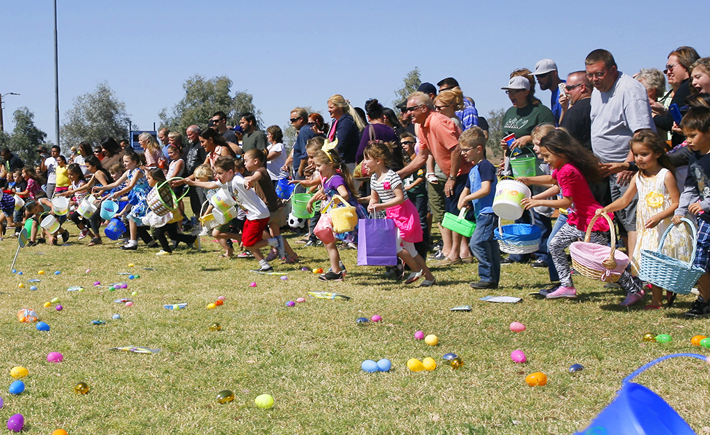 Easter Egg Hunt Sponsored by Sunrise Rotary on Sunday, March 29