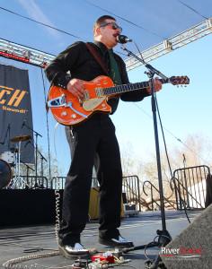 The Octanes perform at Rockabilly Reunion. Jillian Danielson/RiverScene