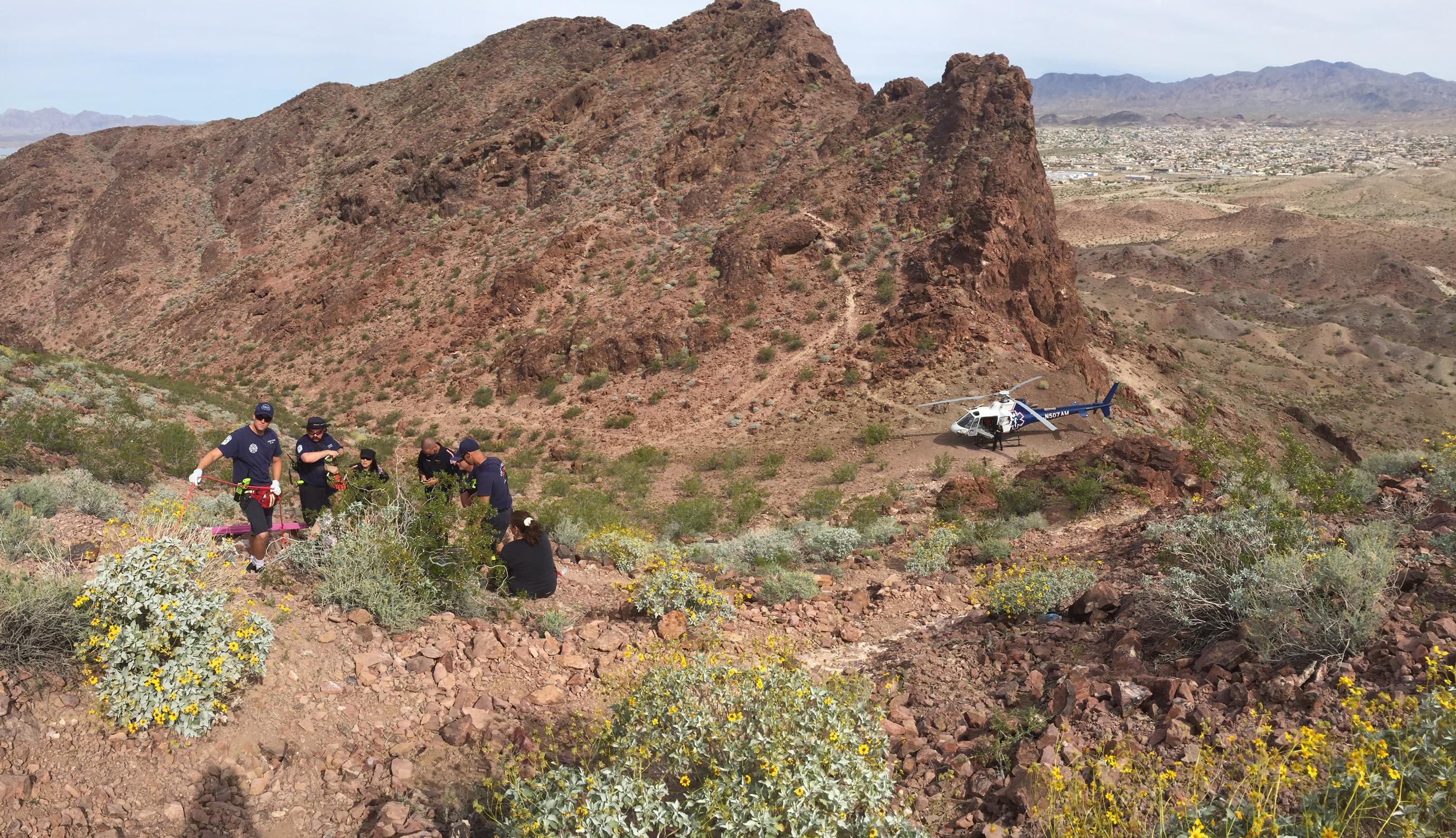 Table Top Mountain Rescue