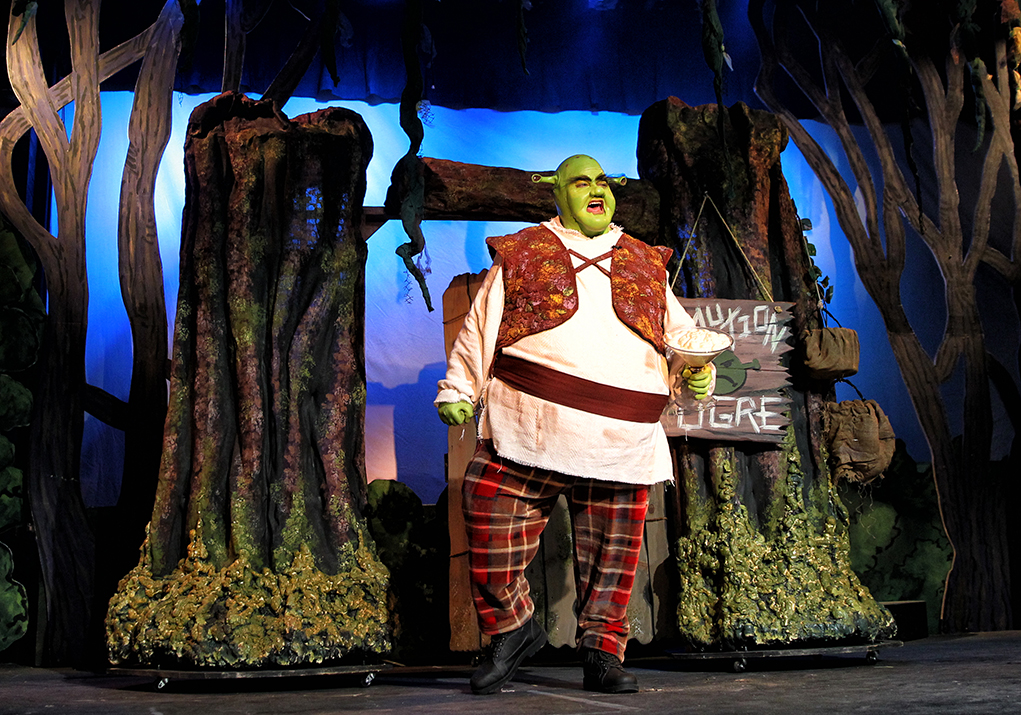 Shrek the Musical Roars Onto the Grace Arts Live Stage