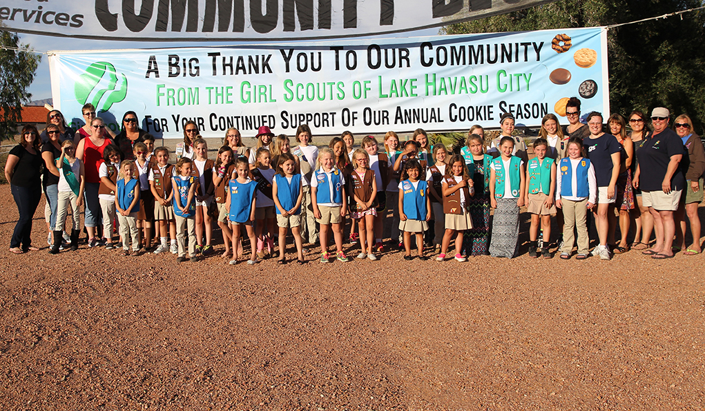 Girl Scouts Say Thank You