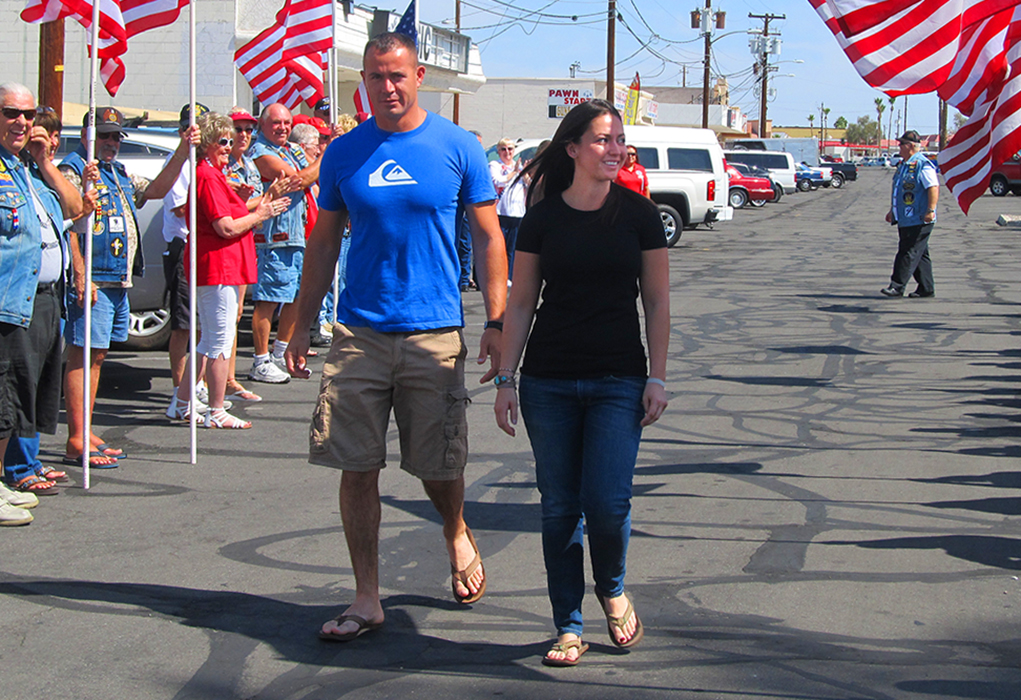 Local Marine Honored for Her Service