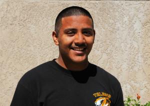 Telesis student Eduardo Martinez. Jillian Danielson/RiverScene