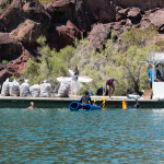 Trash collected by volunteers during the 5th Annual Copper Canyon Cleanup. Nathan Adler/RiverScene