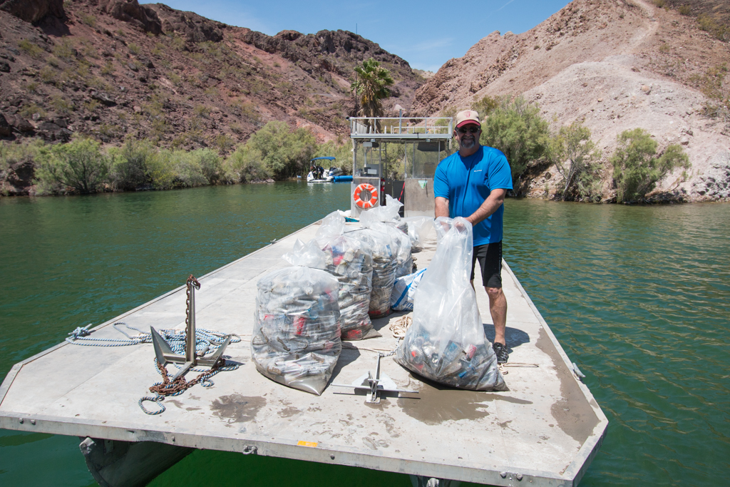 Cleaning up Copper Canyon After the Holiday
