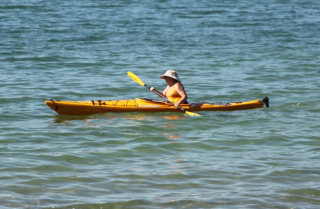 Kayak Photo Op