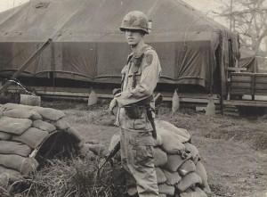 Grimes at base camp 1968