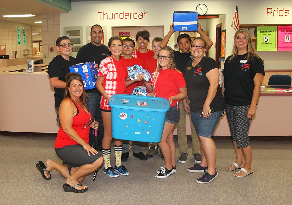 Keller Williams  Donates To LHUSD Schools