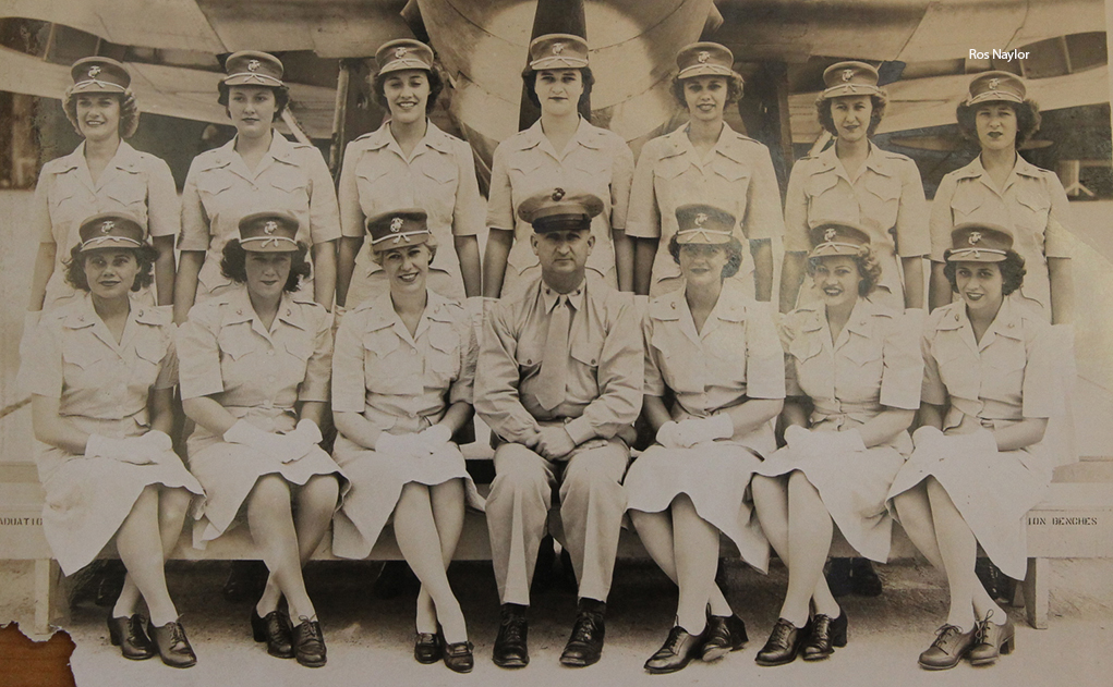 Roz: One Of The First Women In The Marine Corps