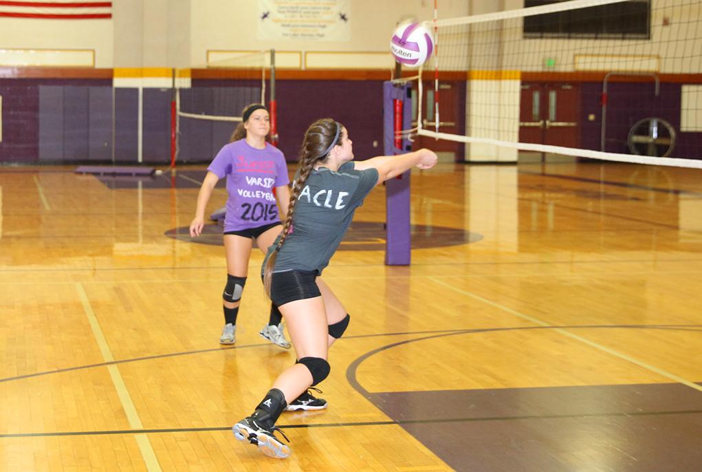 LHHS Volleyball Practices Underway