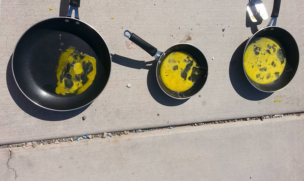 Residents Fry Eggs During Arizona Excessive Heat Warnings