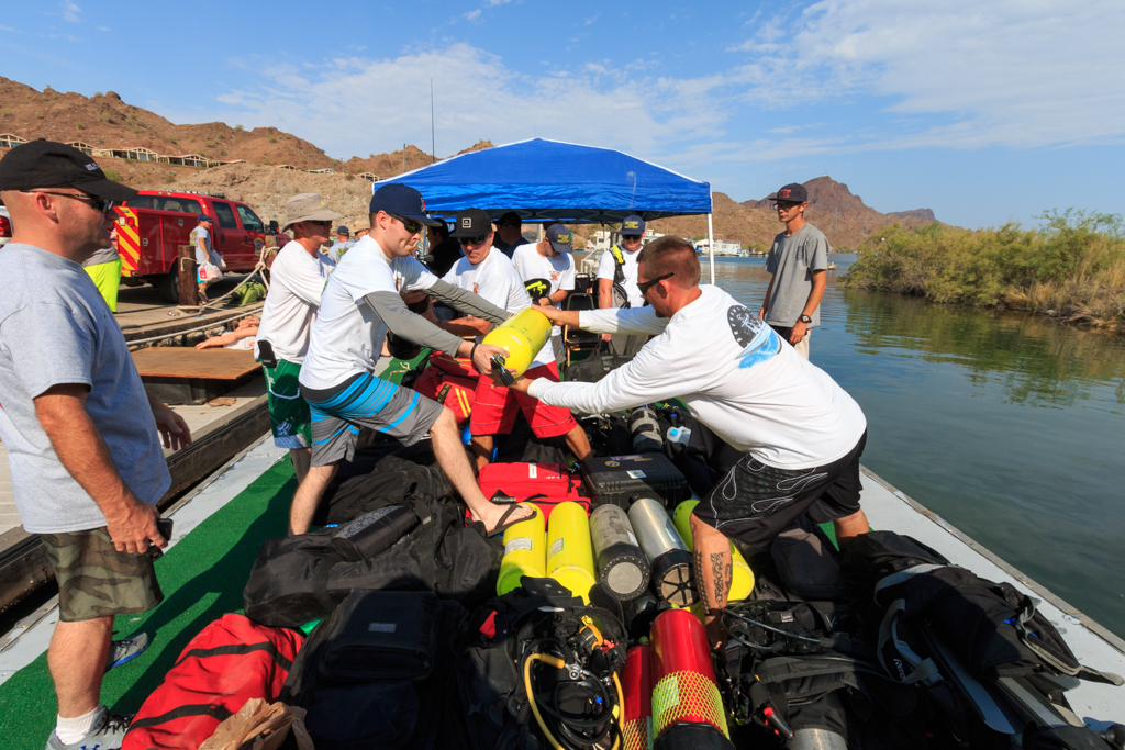 Local Fire Department Helps First Responders Learn Dive and Rescue Skills