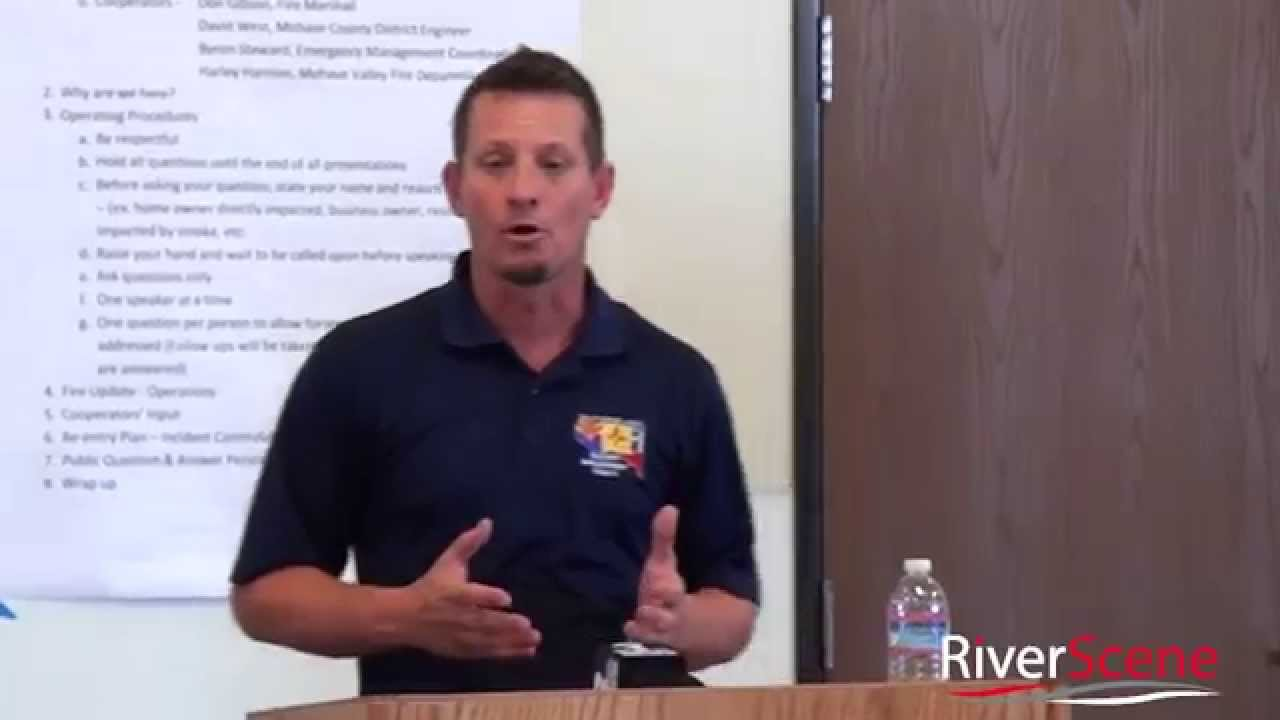 Willow Fire Update Monday 3pm Public Meeting