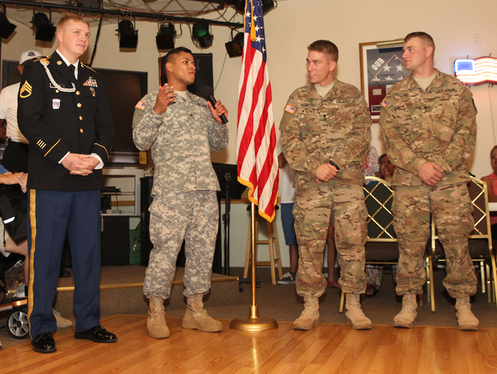 Four Soldiers Honored