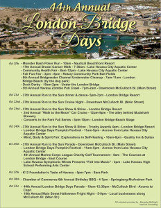London Bridge Days Flyer