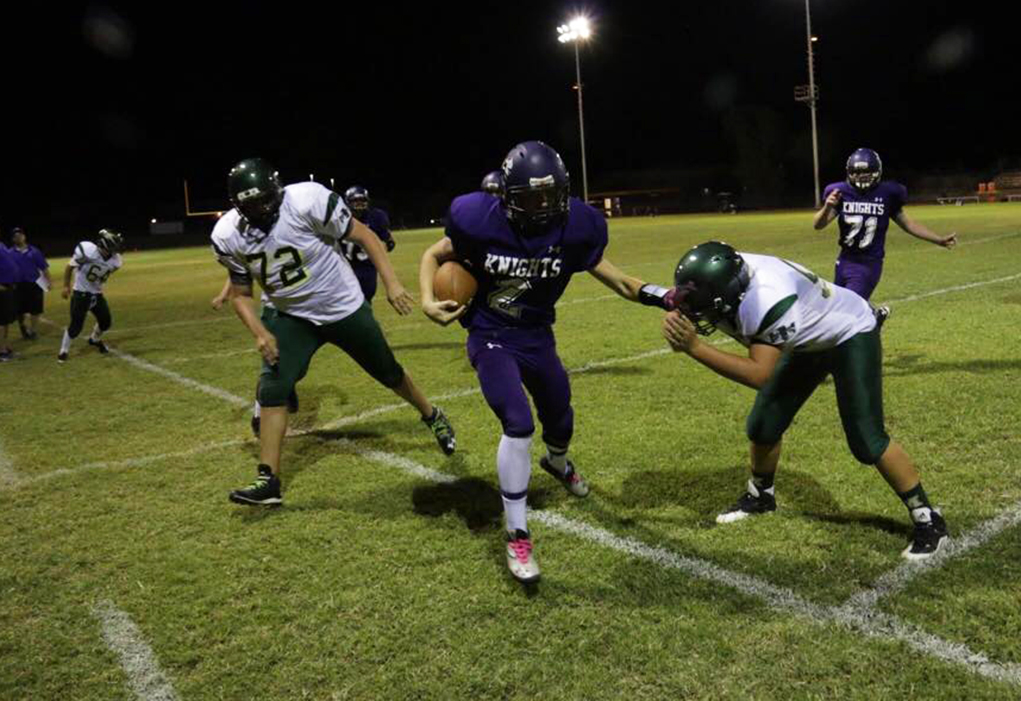 JV Fighting Knights Defeat Mohave Thunderbirds