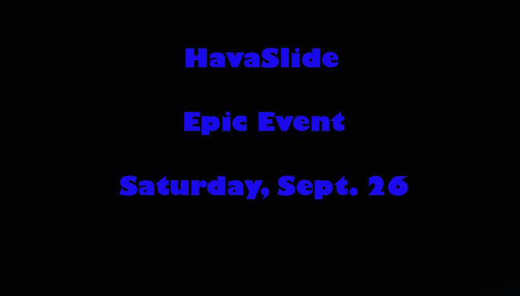 First HavaSlide Epic Event Happening In Havasu This Weekend