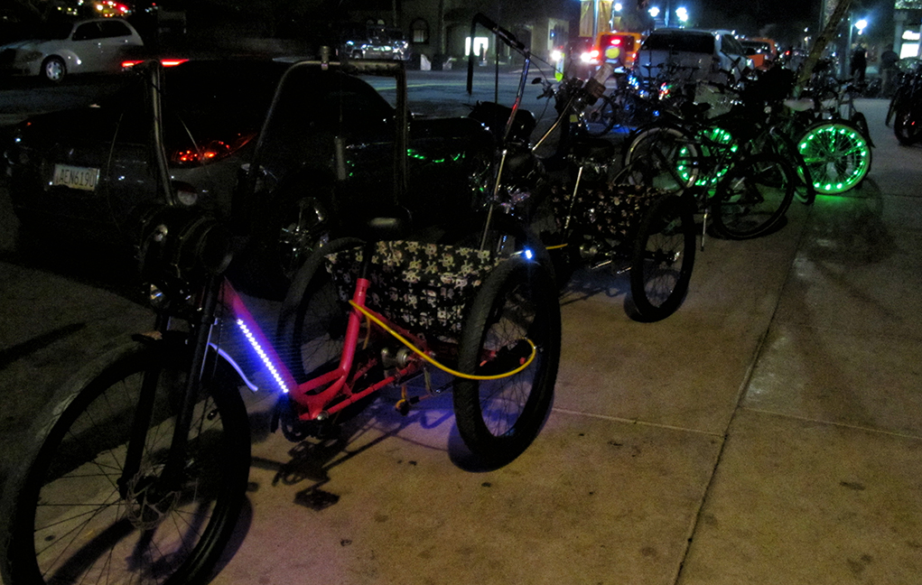 The Night Bikes Rule on McCulloch