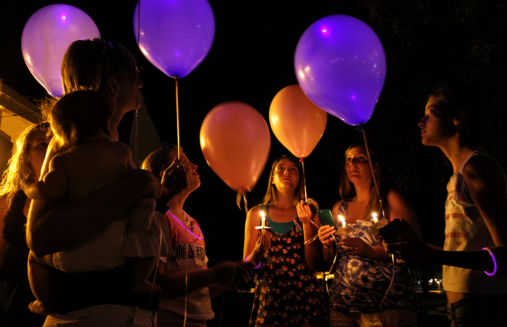 Rae Of Hope Hosts National Pregnancy And Infant Loss Vigil  At Rotary Park