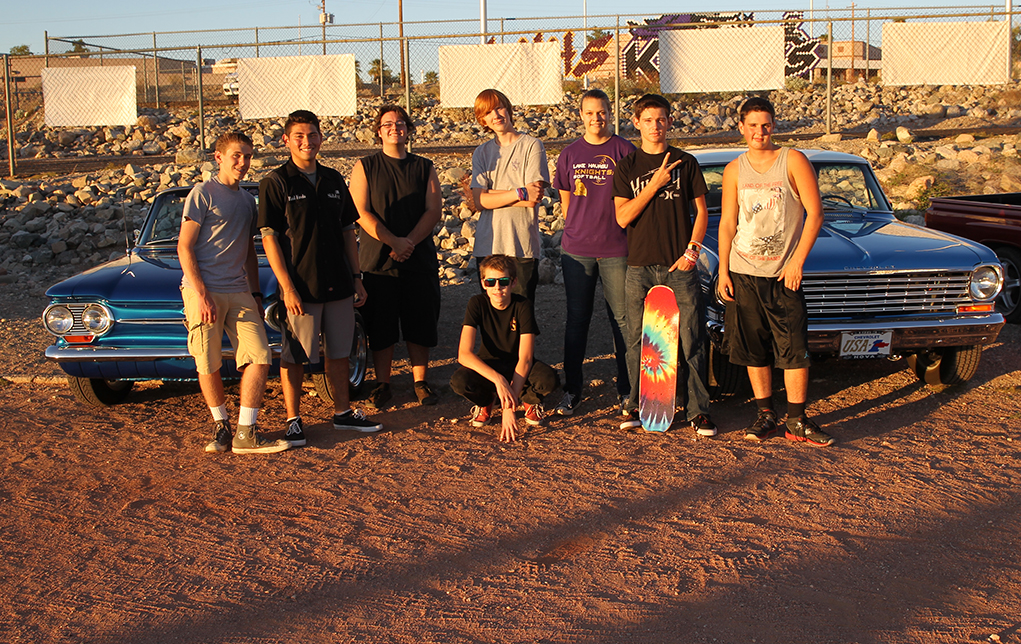 LHHS Rolls Out New Hot Rod Knights Car Club