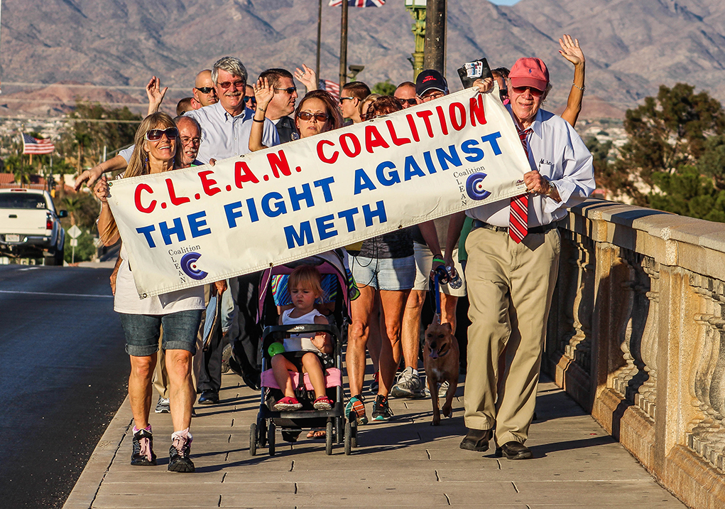 """C.L.E.A.N Coalition """"Walk Away From Drugs"""""""