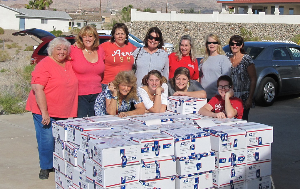 Military Moms Seek Deployed Troops For Care Packages