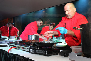 John Andreola competes in the 2015 Havasu Top Chef competition. Jillian Danielson/RiverScene