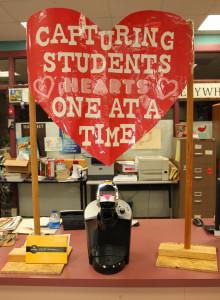 A Keurig Machine was donated to the teachers lounge. Jillian Danielson/RiverScene