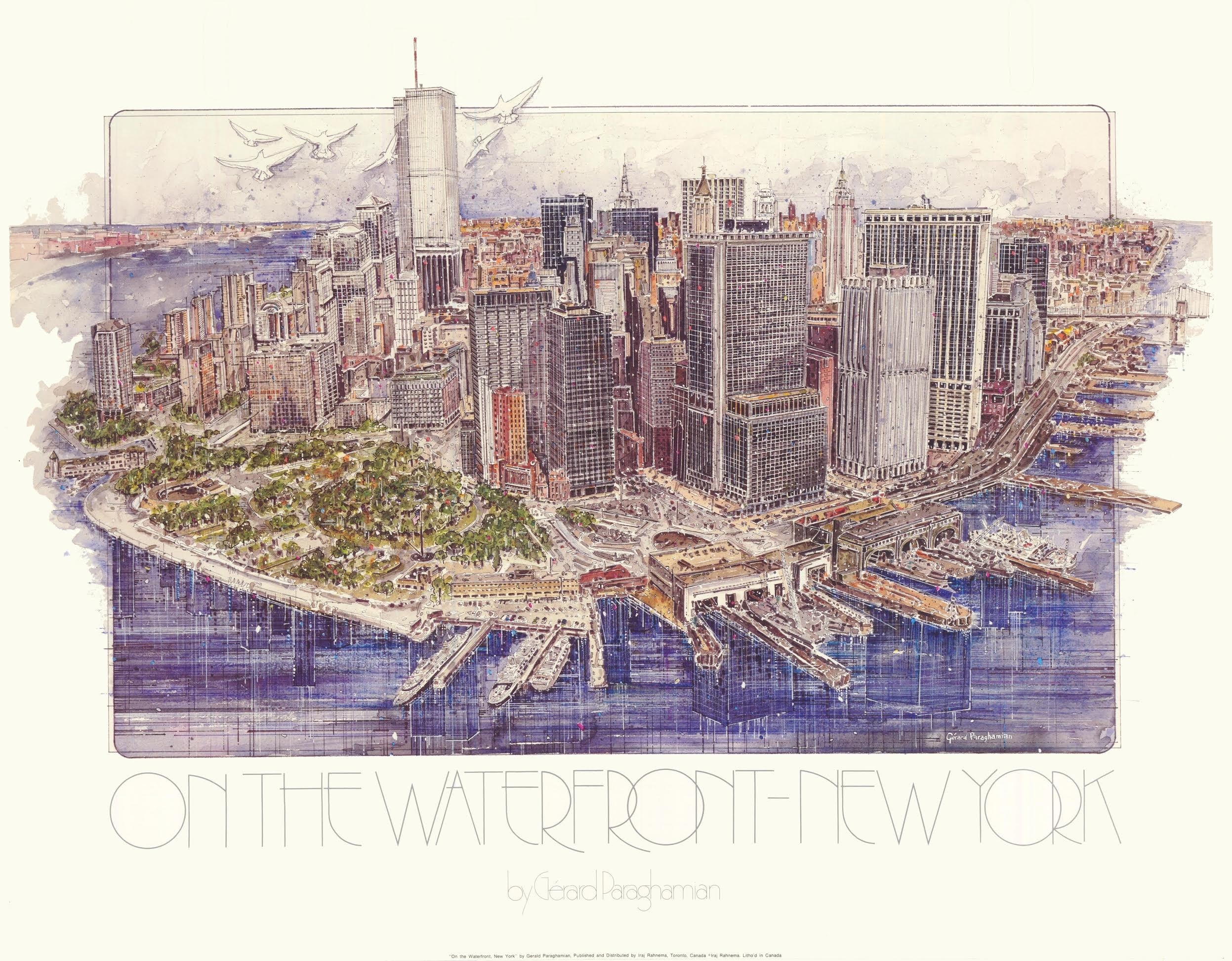 Special Pre -September 11 Art Donated To Interagency Council