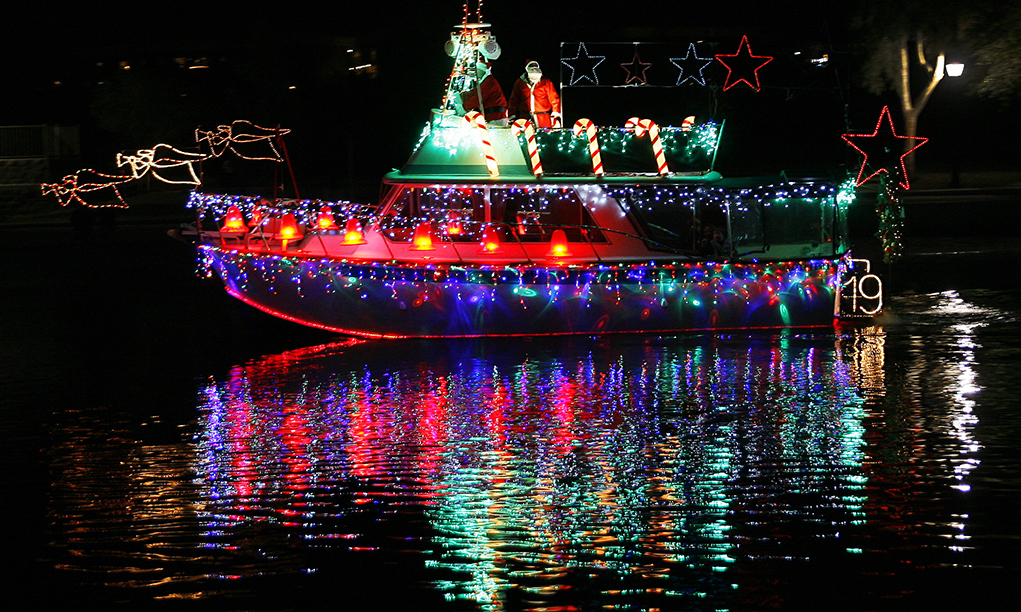 Boat Parade Of Lights Set For Friday And Saturday