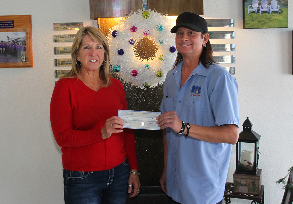 Havasu Pest Control Donates To New Horizons In Memory Of Les Galst
