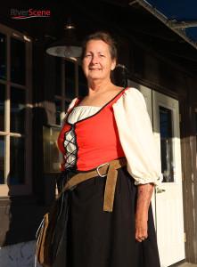 Janis Wetherbee portrays Jane the Healer at Lake Havasu's first Renaissance Faire. Jillian Danielson/RiverScene