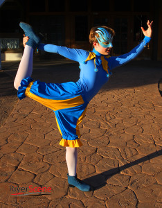 Abigail Hunt will perform as Acrobatic Jester at Lake Havasu's first Renaissance Faire. Jillian Danielson/RiverScene