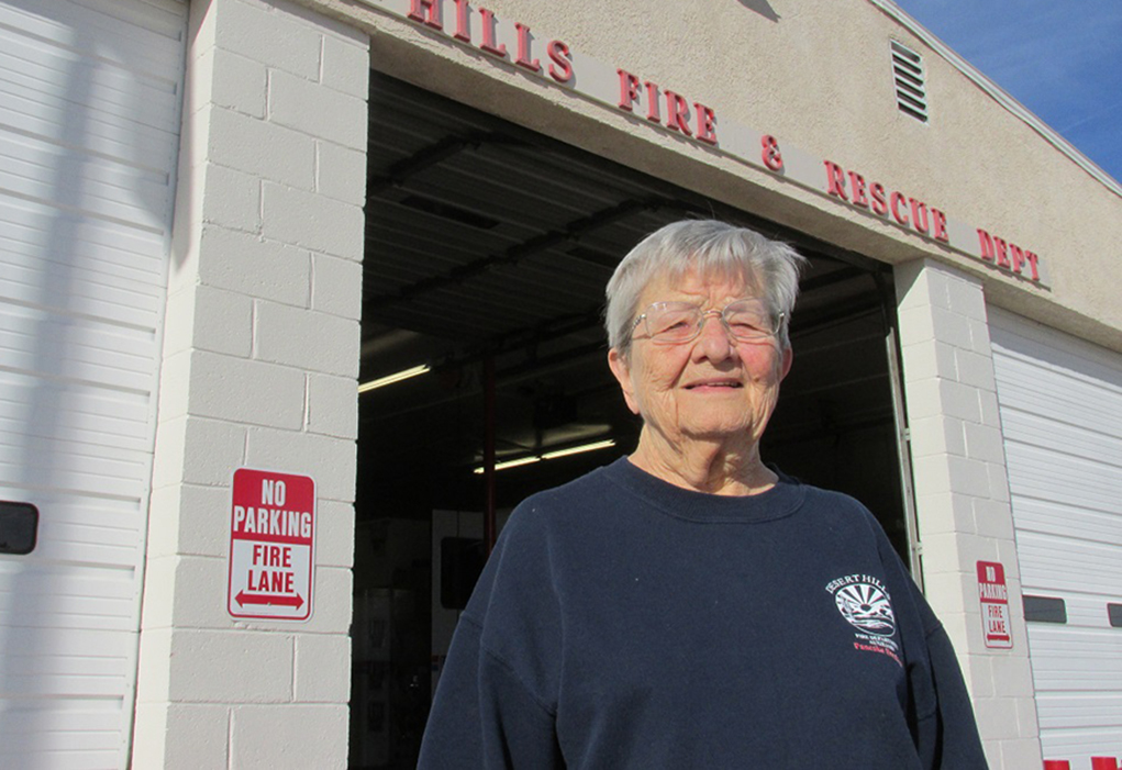 Dee Moscou, Desert Hills Fire Department Auxiliary Icon
