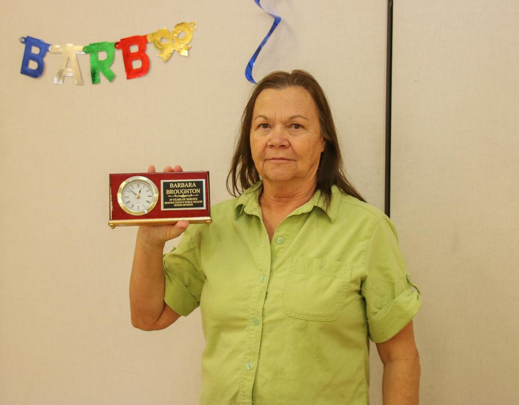 Senior Center Star Retires