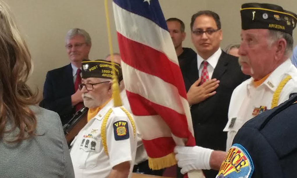 Kingman Opens Veterans Court
