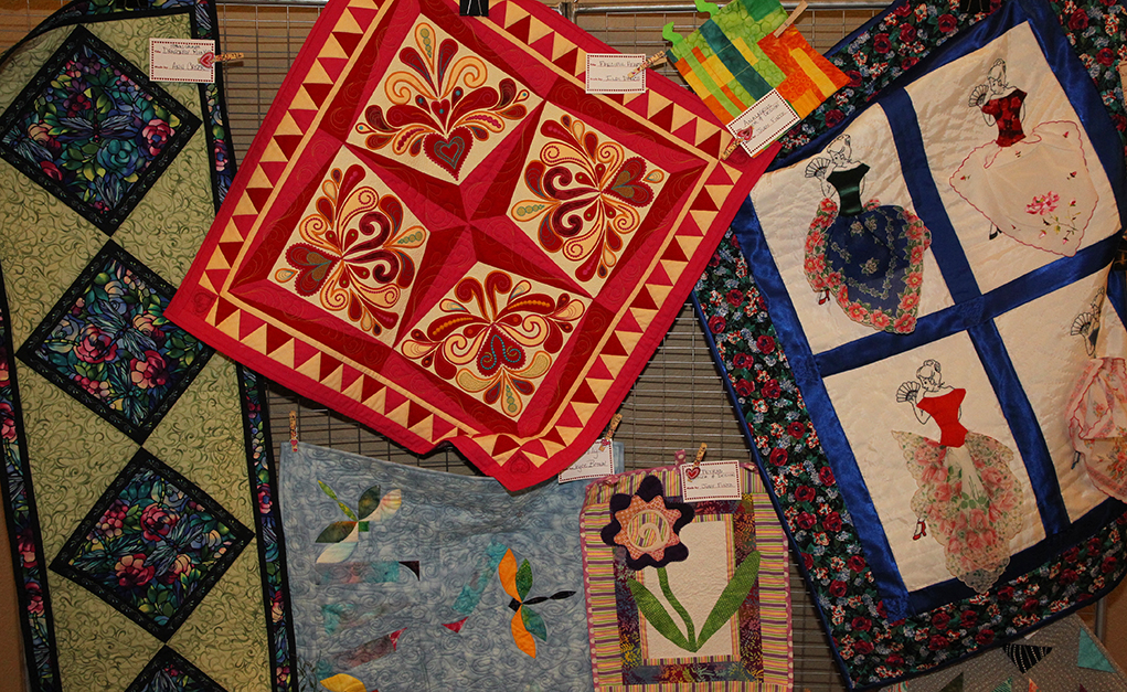 Quilters By The Lake Brings Stitchers Together