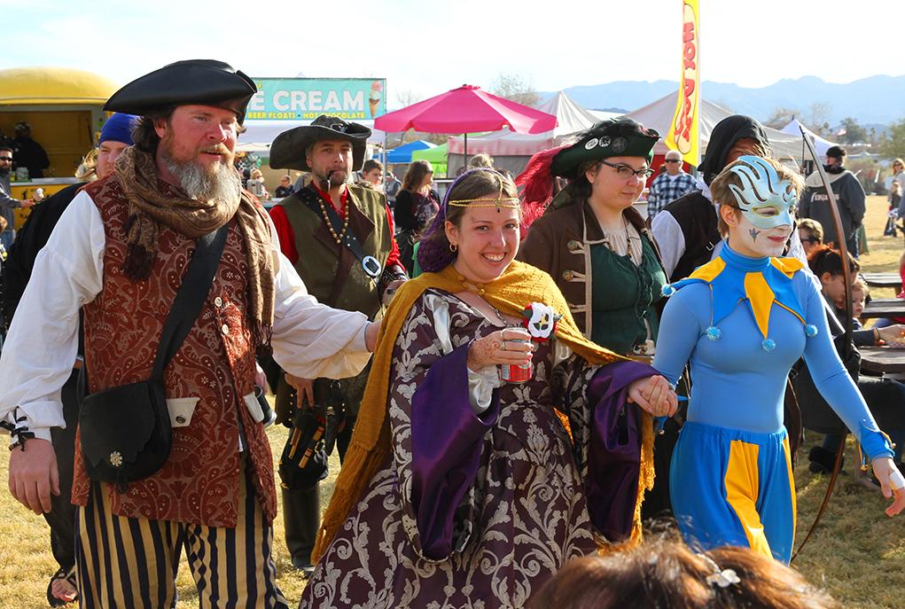 Huzzah! Renaissance Faire Expect Twofold That Doth Takest Thou Breath Away