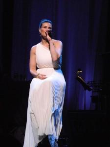 Idina Menzel concert photo by Samantha Rogers.