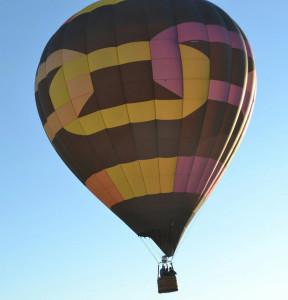 "Haliczer's one of three balloons, ""Synchronicity"" Courtesy Lyndsey Brueckner and Sadelle Finney"