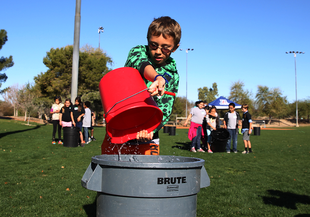 State Brings Water Conservation Message To Fourth-Graders