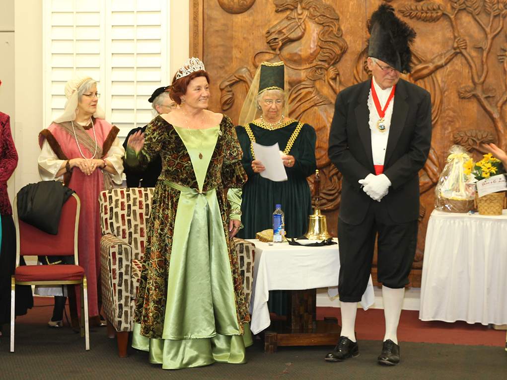 The Museum Of History Presents The Queen's Tea