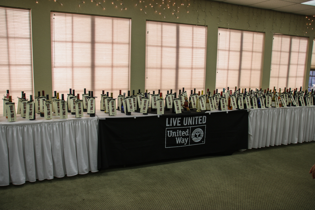 Wall of Wine United Way Fundraiser