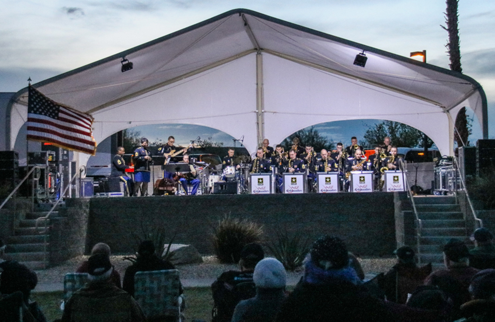 Army Jazz Band Concert A Hit With Music Lovers