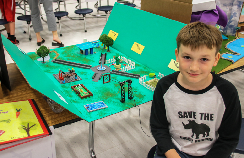 Starline Elementary Students Envision Expo