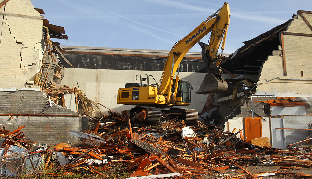 The Demolition Of History