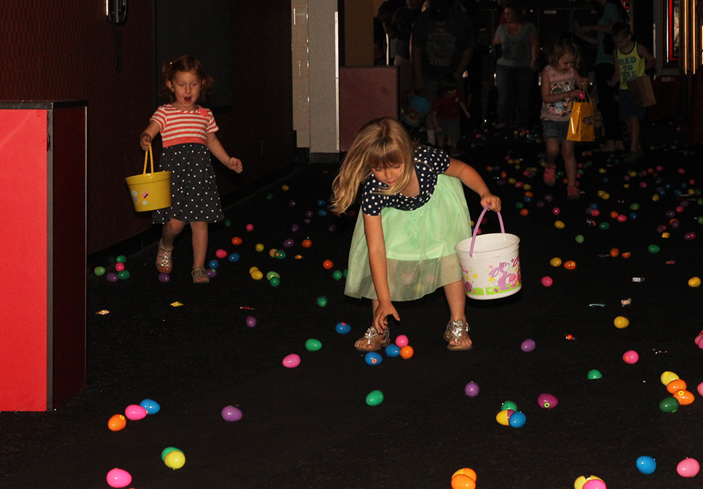 The Egg Hunt Is On At The Shops