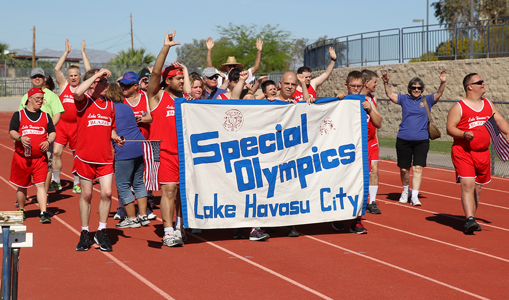 Shining Their Light At The Special Olympics