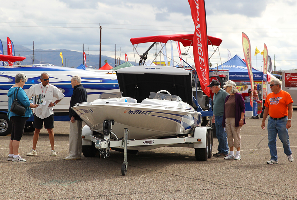 Rain Or Shine, The Boat Show Must Go On